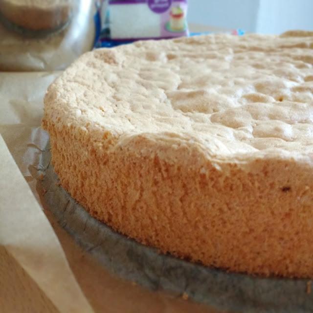 Biskuit für Schneebälle | Kokostorten Cake Balls | Foodblog rehlein backt