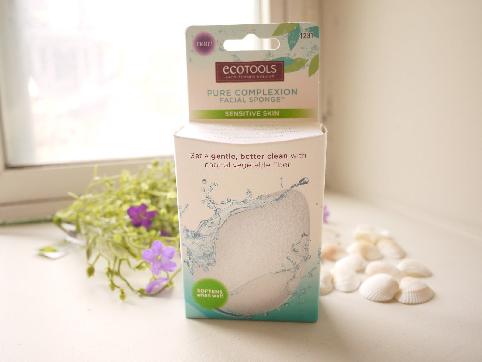 Ecotools Pure Complexion Facial Sponge review
