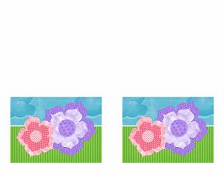 Tarjeta de Invitación a fiesta, diseño de flores, Word