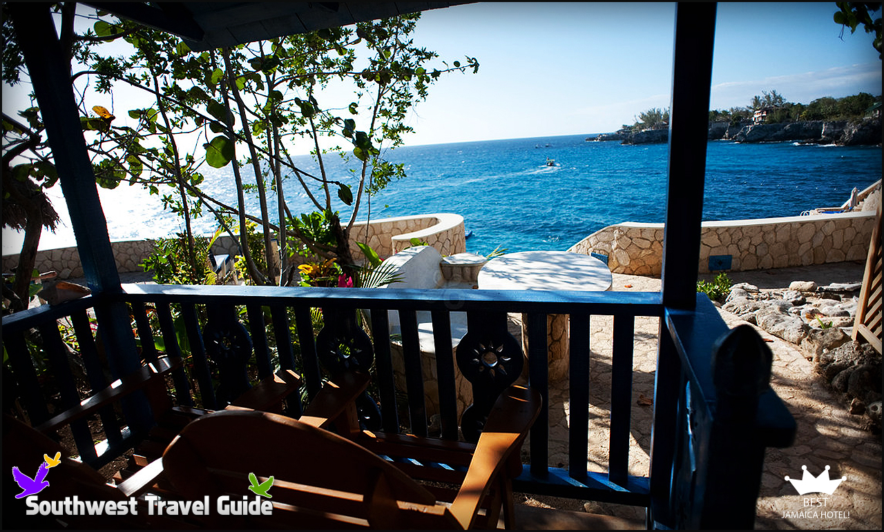 Balcony At The Sun Dancer Room Caves 4 Best Jamaica Negril