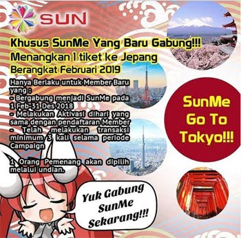 SUNME CAMPAIGN TO JAPAN