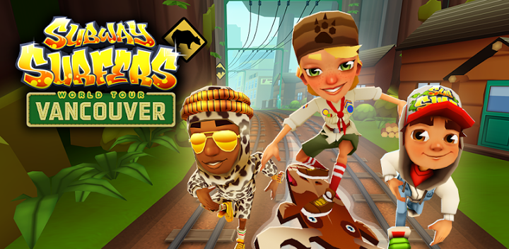 Subway Surfers 1.23.0 MOD APK Vancouver Canada (Unlimited Coins/Keys)