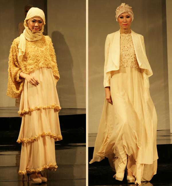 Model gaun atau gamis pesta muslimah modern 2014 terbaru Gambar baju gamis pesta 2014