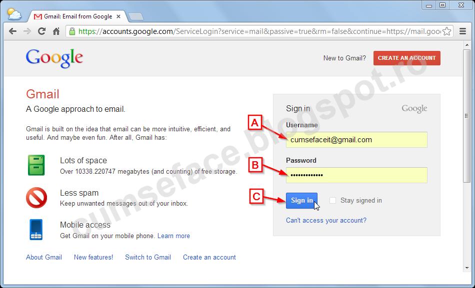 configurare adresa mail gmail pe thunderbird cum se face