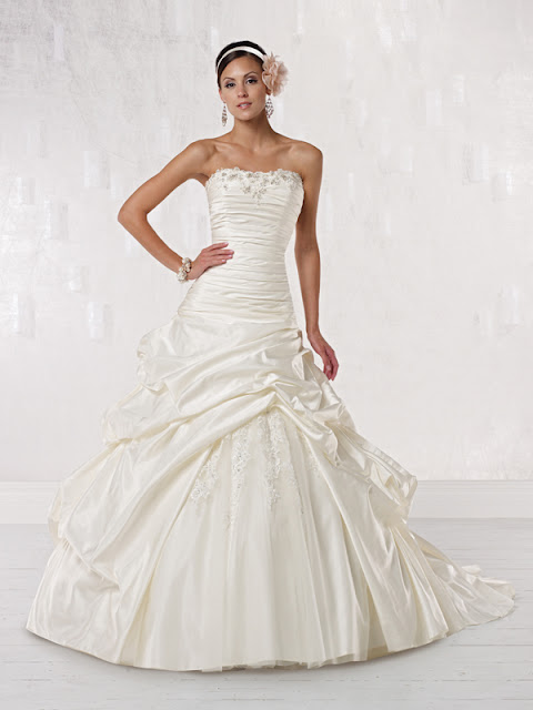 Dressybridal princess wedding gowns start your fairy for Pick up wedding dress