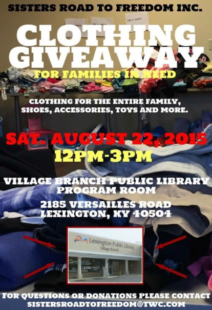 clothing giveaway flyer akba greenw co