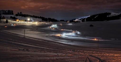 Moonlight Classic Langlaufrennen Nacht Vollmond