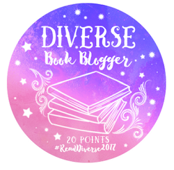 I earned this badge for reviewing 20 diverse books.