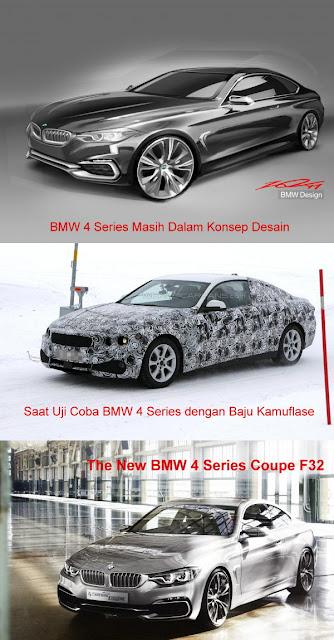 BMW 4 Series Akhirnya Berani Lepas Baju