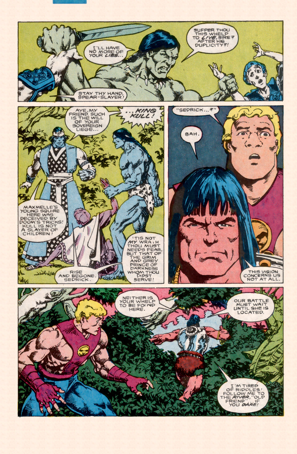 Conan the Barbarian (1970) Issue #199 #211 - English 11