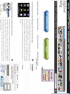 Blog tampilan di ucbrowser