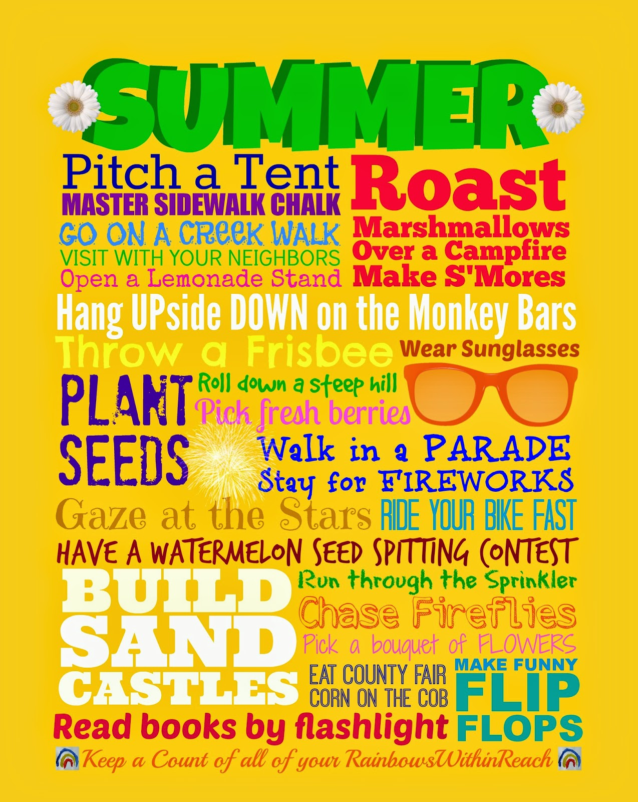 Summer Subway FREEBIE Printable at PreK+K Sharing