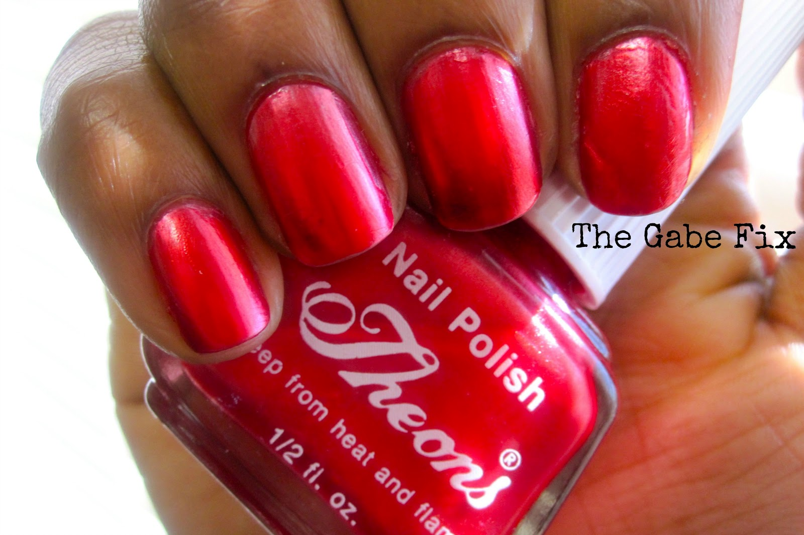 Manicure Monday - Theons #5 - The Gabe Fix by Gabrielle Flowers