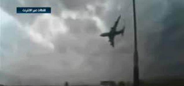 فيديو حصري يظهر الطائرة الروسية المنكوبة لحظة سقوطها في سناء