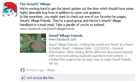smurfs village beeline