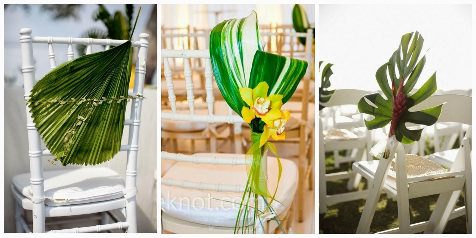 inspiracion para una boda tropical blog bodas mi boda gratis decoracion sillas