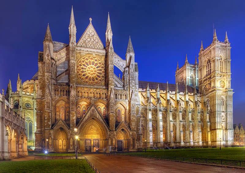 La Abadía de Westminster en Londres, viajes y turismo