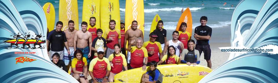 Escola de Surf Rico - Barra da Tijuca