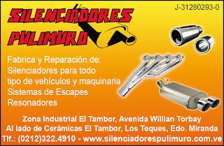 SILENCIADORES PULIMURO C.A. en Paginas Amarillas tu guia Comercial