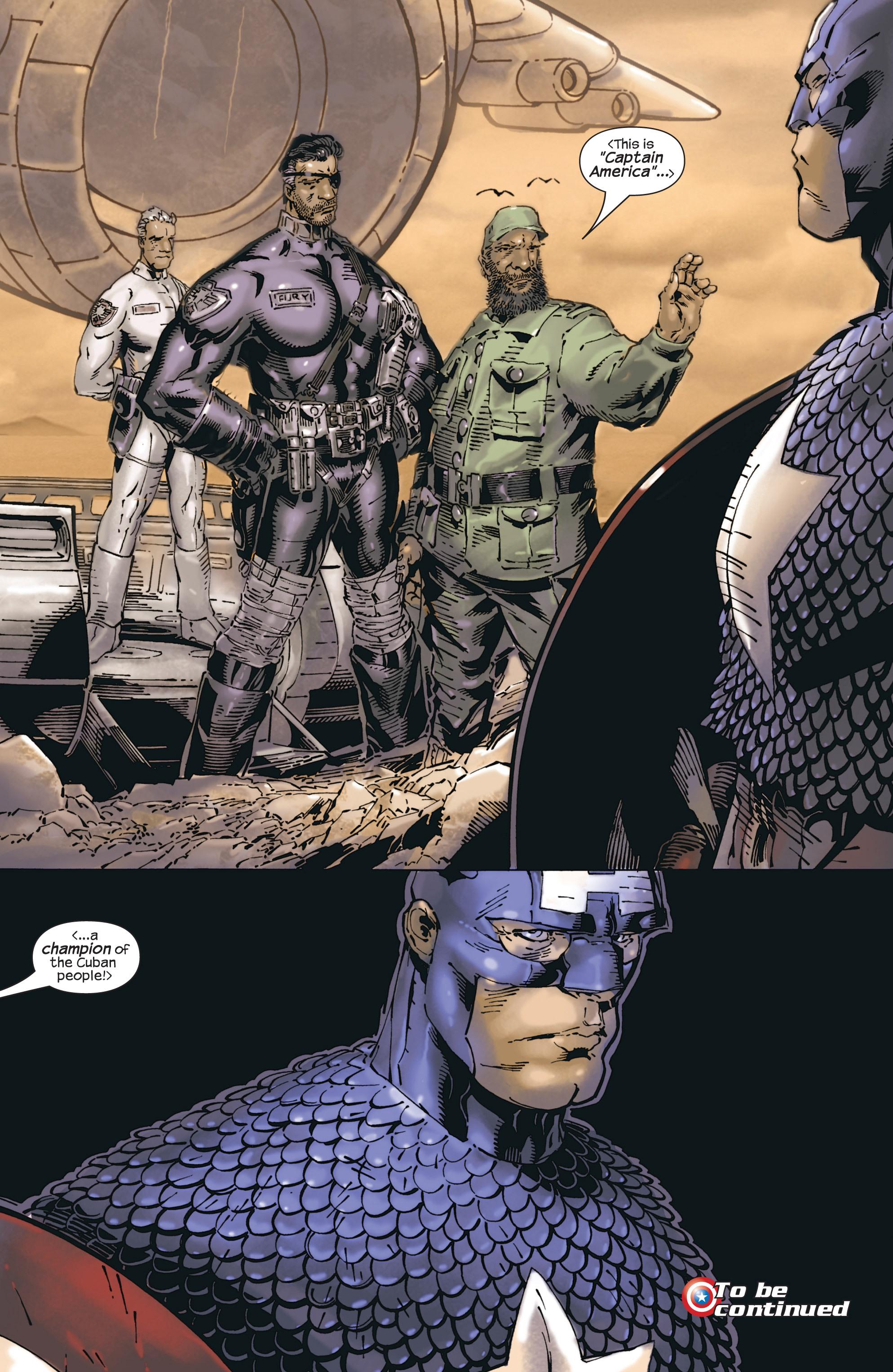 Captain America (2002) Issue #23 #24 - English 22