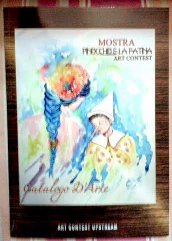 """MOSTRA D'ARTE PINOCCHIO E LA FATINA (Presentazione e Racconto: """"Un cuore per Belargè """""""