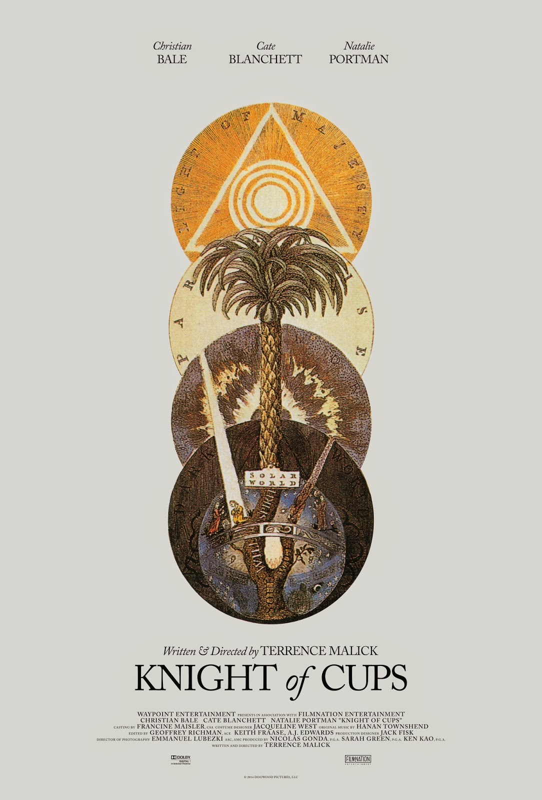 Terrence Malick's Knight of Cups Film Poster