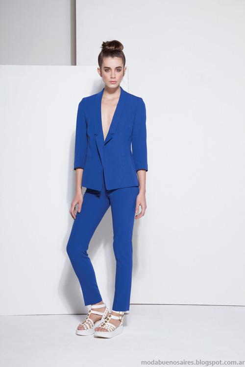 Carmela Achaval looks de moda primavera verano 2014