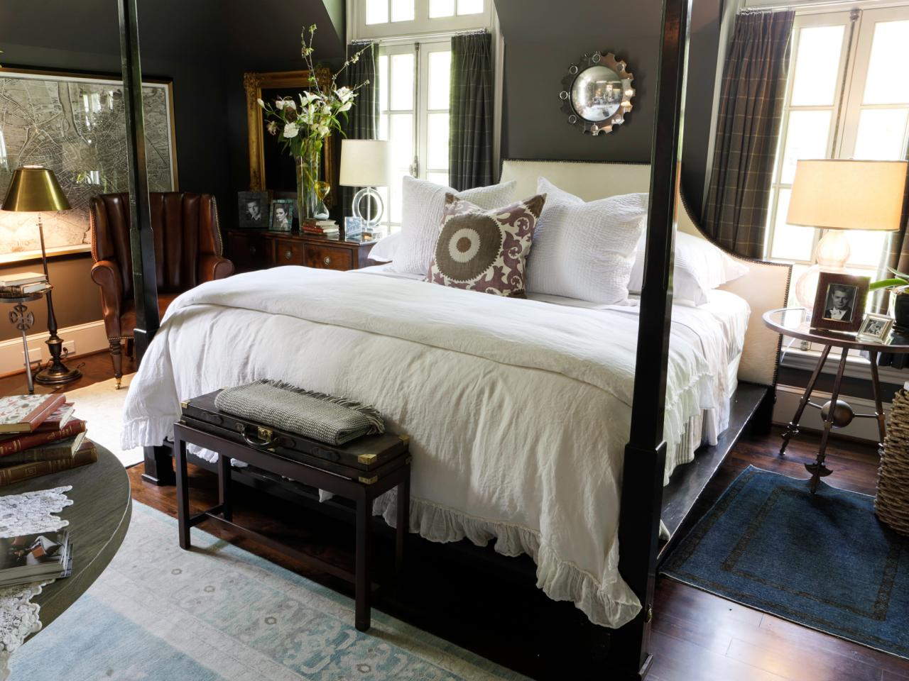 Mixing design styles new traditional my kentucky living for Upstairs bedroom ideas