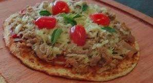 Pizza da Dieta de Dukan