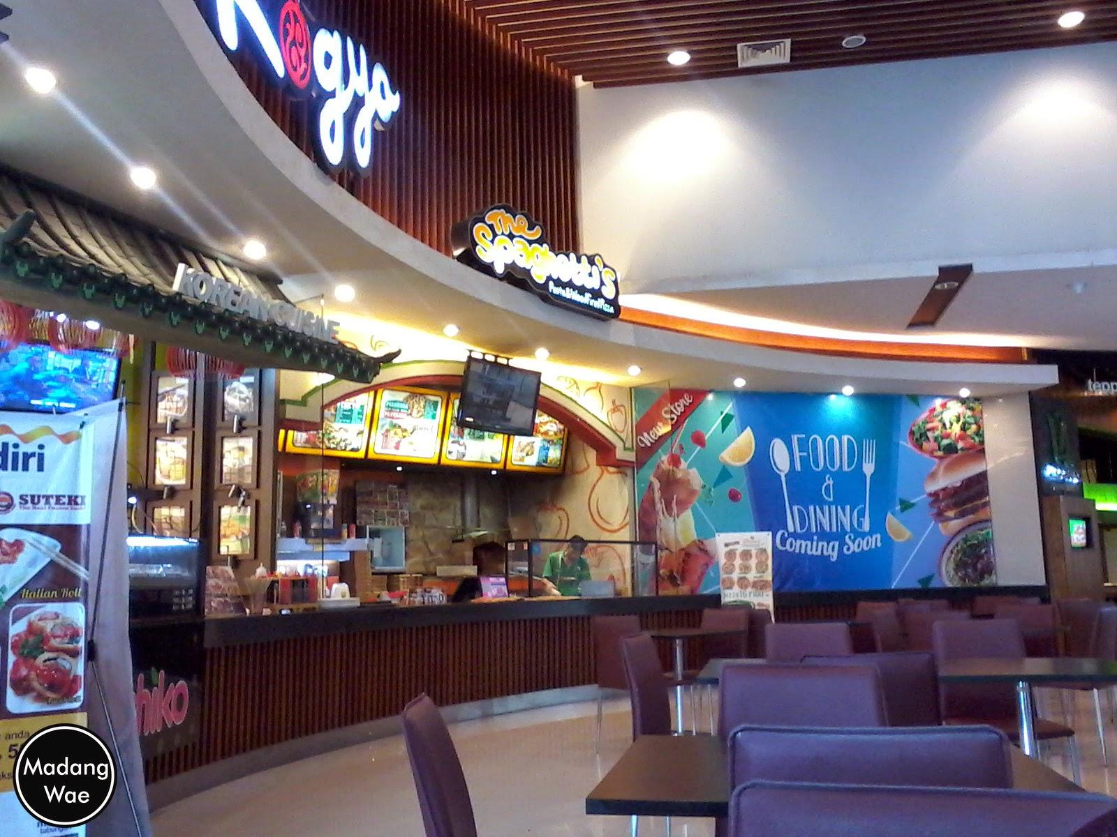 Food Court Grand City Mall Surabaya