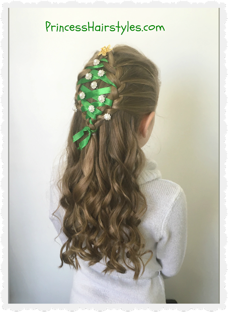 christmas tree hairstyle - hairstyles