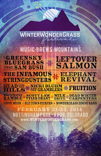 2014 WinterWonderGrass Music and Beer Festival