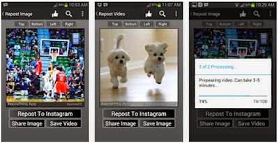 How to Repost Instagram Photos and Videos Other Users In Android