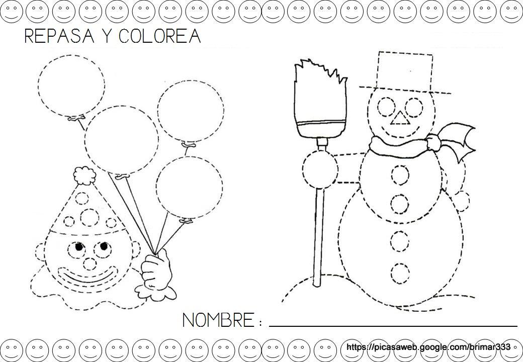 Mi Mundo Infantil: FICHAS DEL CÍRCULO 2