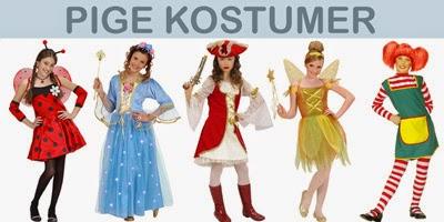 Pige Kostumer til fastelavn