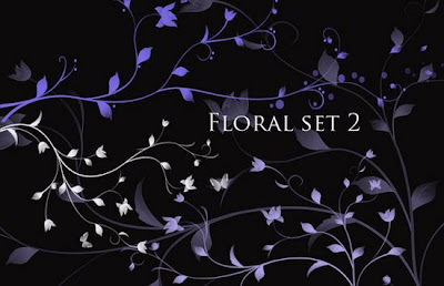 Descargar Brushes Florales Gratis