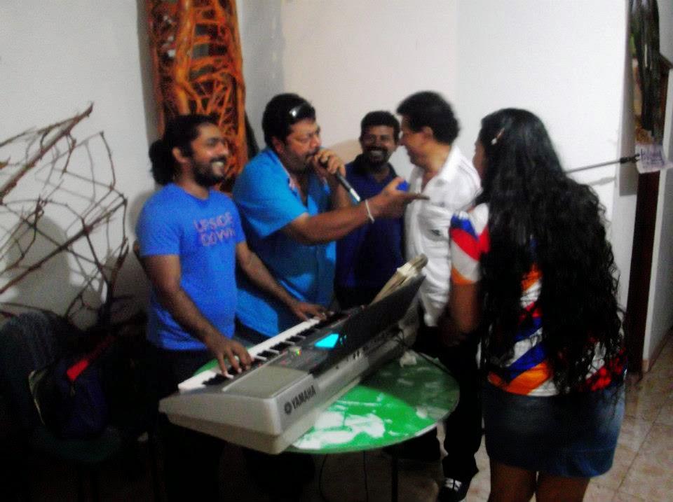 Madhu Nithyani tele drama packup party