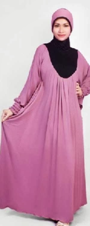 Model Baju Gamis Simple Modern 2014