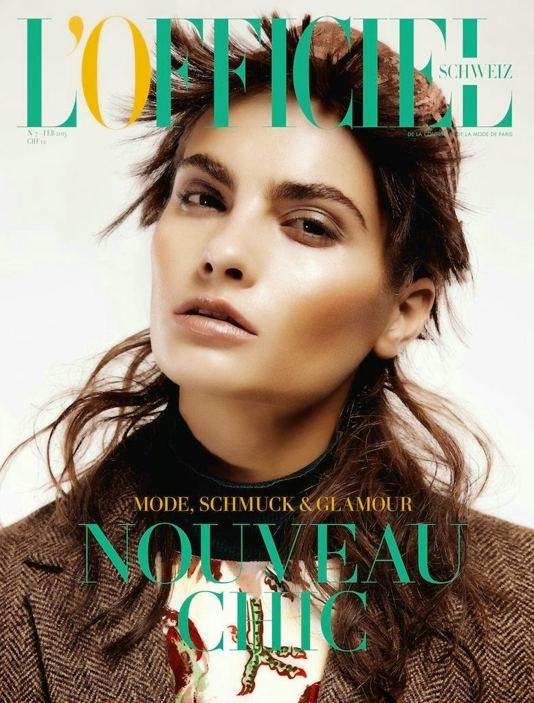 Actress: Rayne Ivanushka By Lina Tesch For L'officiel, Switzerland