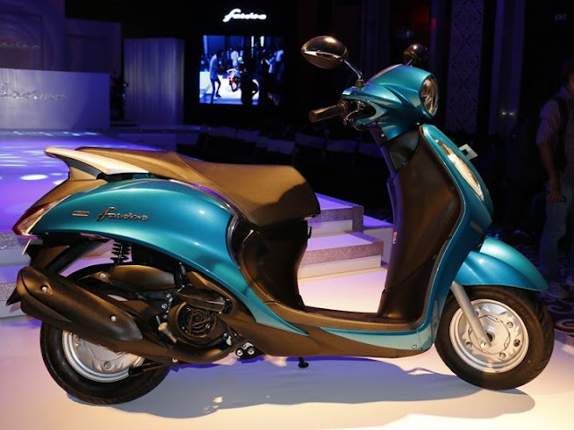 All New Launched Yamaha Fascino Scooter 2015