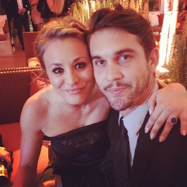 Kaley Cuoco comprometida con Ryan Sweeting