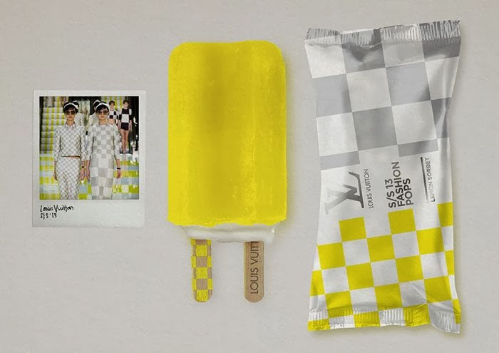 Fashion popsicle Louis Vuitton Atikson