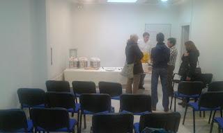 Taller en Asociación Celiacos de Madrid