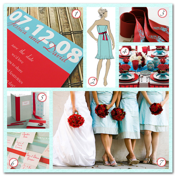 Choose wedding colors...tips and advice? :  wedding Wedding Color Scheme Contrasting Colors