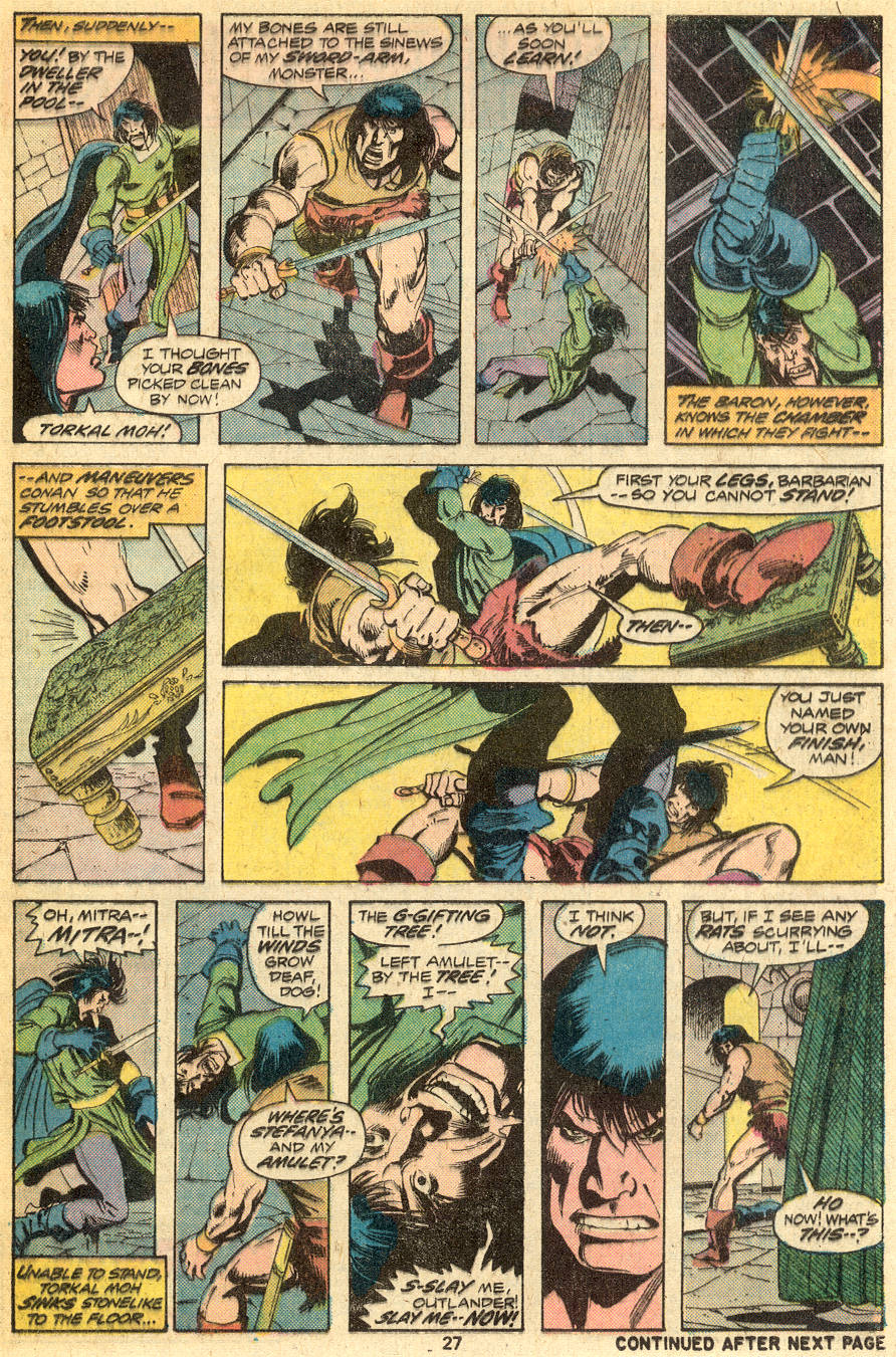 Conan the Barbarian (1970) Issue #49 #61 - English 16