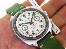 POLJOT CHRONOGRAPH WHITE DIAL - MANUAL WINDING CAL 3133