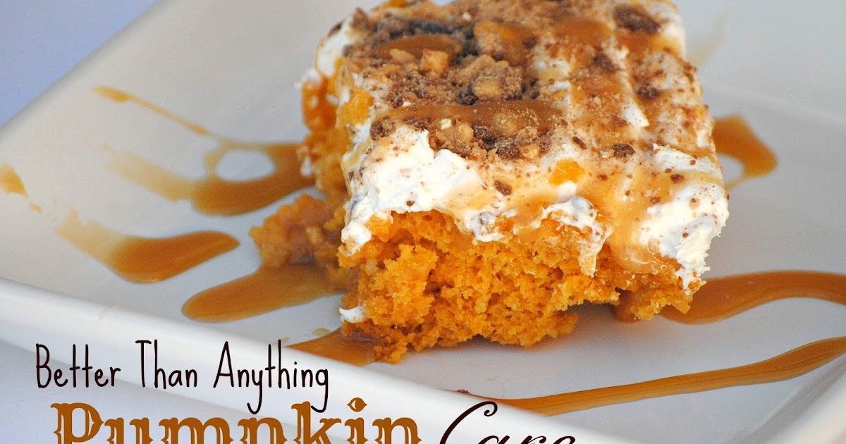 Yellow Cake Mix Pumpkin And Nuts