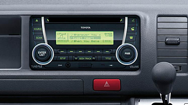 2016 Toyota HiAce Design