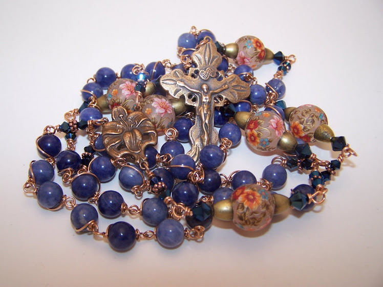 No. 34.  The Garden Of Eden Rosary- NEWLY LISTED!
