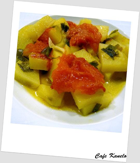 Taze Soğanlı Patates